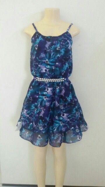 Vestido de crepe BRL 35,00