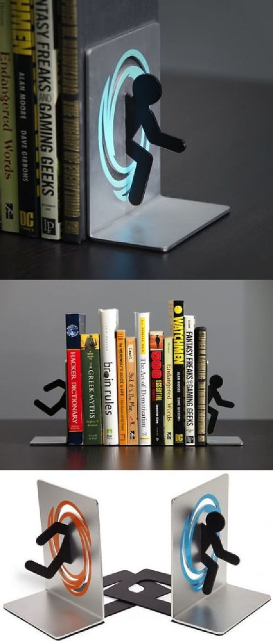 Portal bookends awesome stuff pinterest portal and bookends - Portal bookend ...