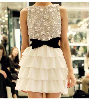 : Bow Dresses, Dream Closet, Cute Dresses, Black Bows, White Dress, Fashion Inspiration, Bowdress, My Style