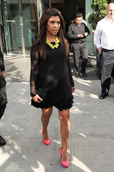 Kourtney Kardashian Photos Photos: The Kardashians in NYC | Nyc ...