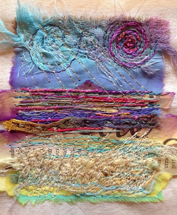 Stabilising your work and dealing with thread ends - the first in my new Teaching Tuesday blog posts with machine embroidery tips and tricks