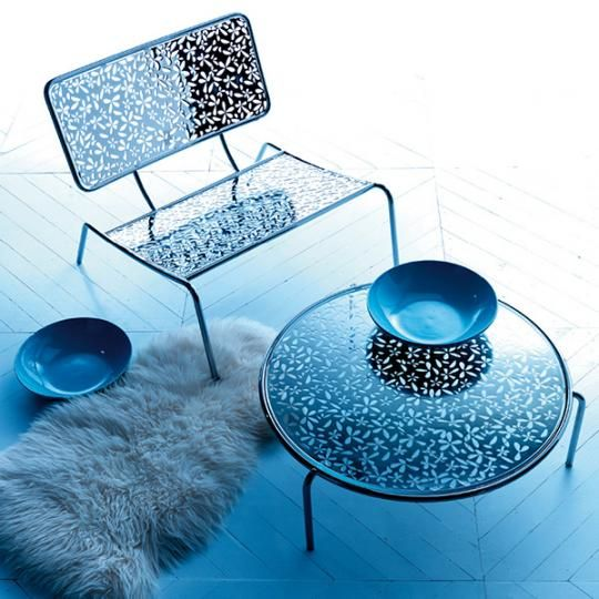 Pierced furniture by Esedra : Modern and cool