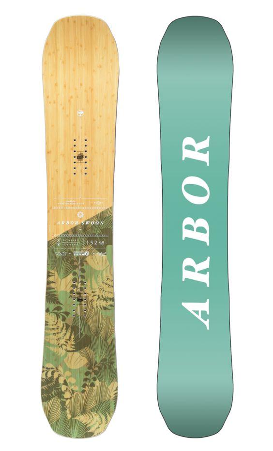Snowboards   Arbor Collective 2017 Swoon Rocker