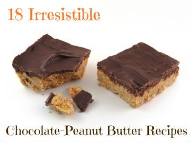18 irresistible chocolate-peanut butter recipes from SparkPeople