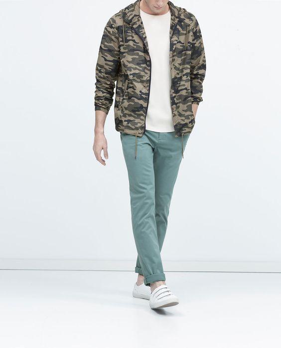 ZARA - MAN - Colored trousers