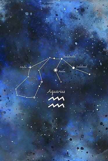 Verseau Aquarius constellation