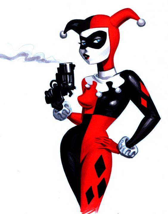 Harley Quinn Dibujo Buscar Con Google Pa 39 Pintar