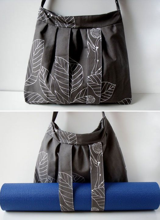 Amy I tried to pin this to that board you invited me to but idk how?! Anyways, this is perfect for you! You love bags! And yoga!!! = Yoga bag!!