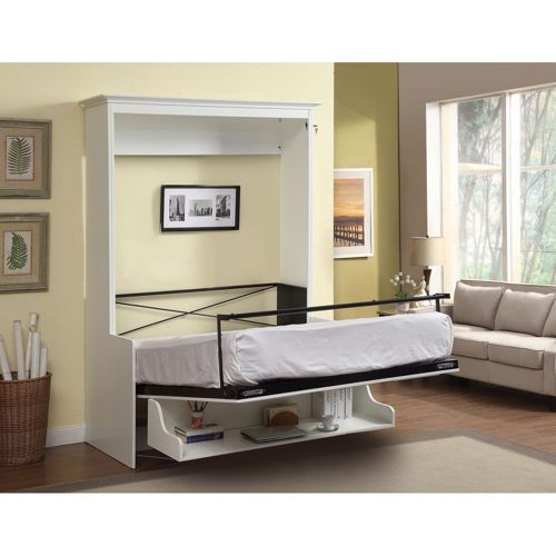 Techcraft – Allegra Queen Wall Bed with Desk