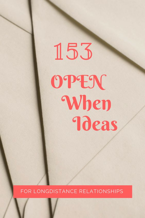 What to Put Inside Your Open When Letters -