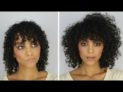 How To Style Your Fine Hair So It Looks Thicker Curly Hair Styles Curly Hair Styles Naturally Curly Hair Tips