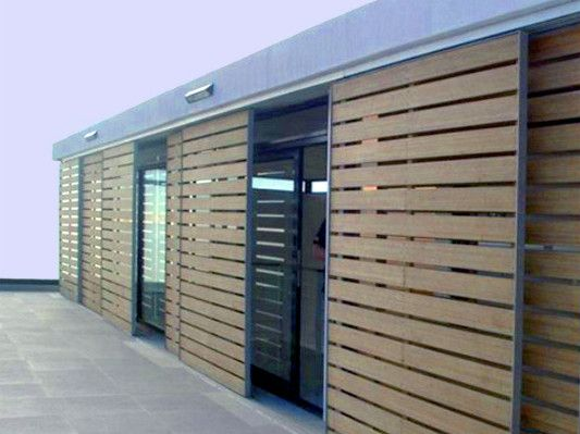 Schiebeläden bungalow mit schiebeläden shipping container house