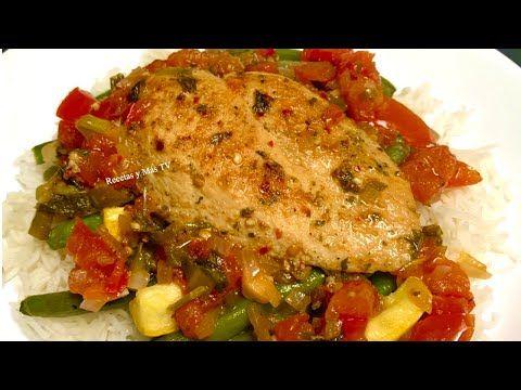 Pechugas De Pollo Marinadas Y Cocinadas En Una Deliciosa Salsa Youtube Maneras De Cocinar Pollo Pollo Marinado Comidas Con Pechuga De Pollo