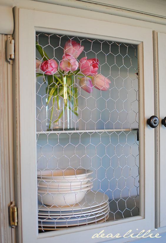 Shabby Chic Update Old Storage Units With A Lick Of
