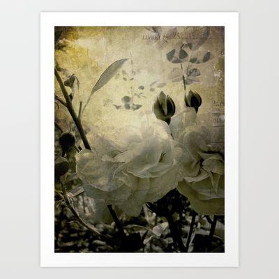 the cutting garden Art Print by inourgardentoo - $18.00