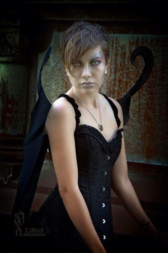 My Halloween Makeup. Photographer: @lausphotography  Model: Ayla Rain #makeup #halloween #halloweenmakeup #darkfairy