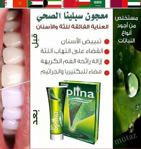 معجون الكلوروفيل سبلينا Splina Toothpaste من ادمارك الماليزيه معجون سبلينا الحصري والمتميز حيث يعطيك تجربة أسنان صحية مع قوة شف Glassware Shot Glass Glass