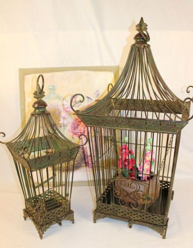 2 sch ne vogelk fige im barock shabby wohnen pinterest. Black Bedroom Furniture Sets. Home Design Ideas