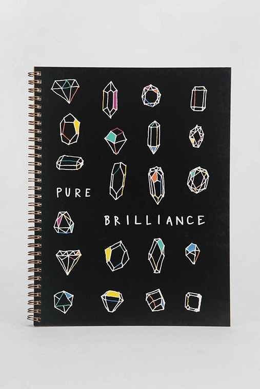 Pure Brilliance Spiral Notebook - Urban Outfitters