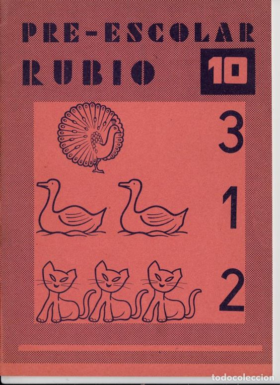 cuaderno rubio pre-escolar nº 10 - Foto 1
