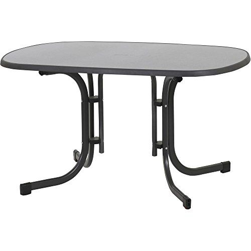 Mfg Tisch Klapptisch 132 X 90 Cm Grau 04013806047038 Campingmultistore De Klapptisch Klapptisch Esstisch Gartentisch