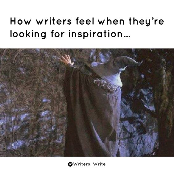 Searching For Inspiration - Writers Write