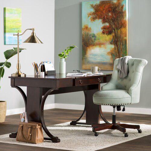Lark Manor Pinkerton Writing Desk Reviews Wayfair
