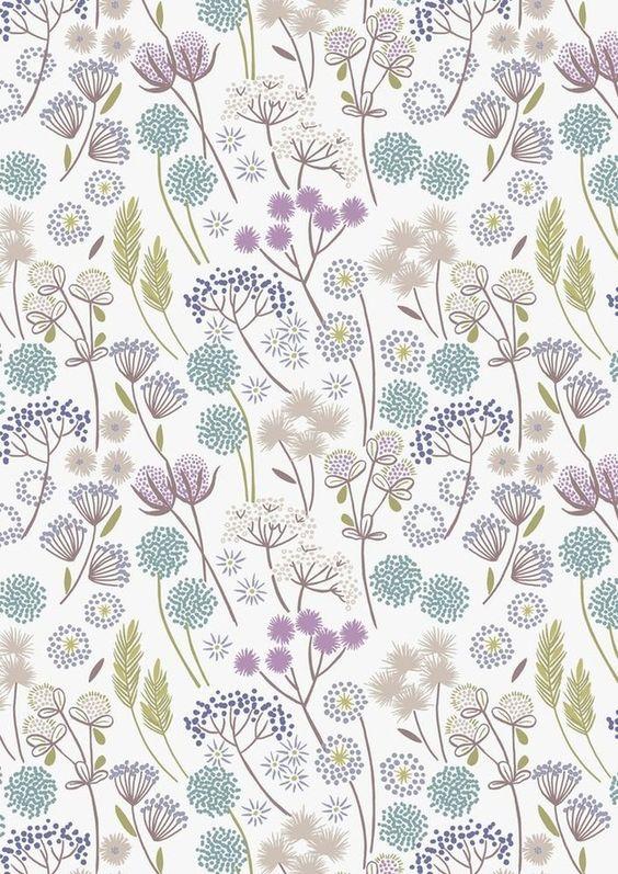 """Stoff Blumen - """" Make a wish """" Blumen *weiß* USA De... - ein Designerstück von mauerbluemchen- bei DaWanda"""