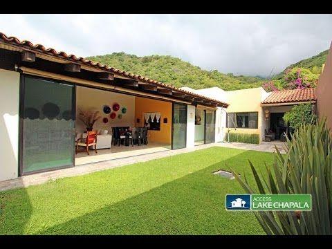 Casa En Ajijic West Casa Escondida Ajijic Jalisco Mexico Youtube Casas Plano De Casas Planos De Casas