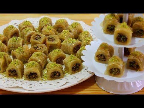 بورما او اصابع البقلاوة بالجوز و الفستق الحلبي حلويات رمضان و العيد Youtube Lebanese Desserts Food Desserts