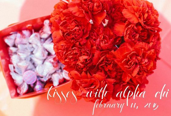 Healthy Relationships Week! Kisses with Alpha Chi PACE event #tcuaxo #tcualphachiomega #healthyaxolove #axo