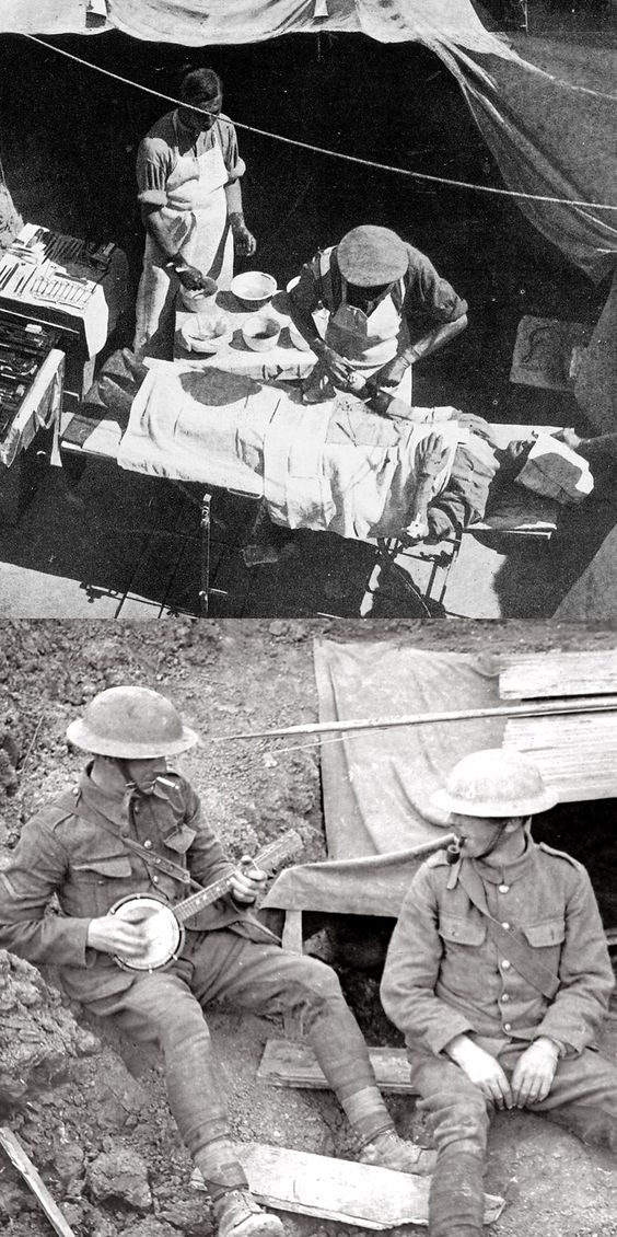 Wwi  Trench And Soldiers On Pinterest