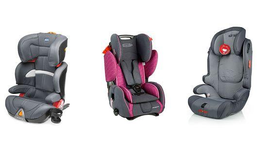 Comparativa sillitas de bebé para coche: Chicco Oasys vs Storchenmühle 61011120666 vs ZOE&JOE Scandinavian ZJ213