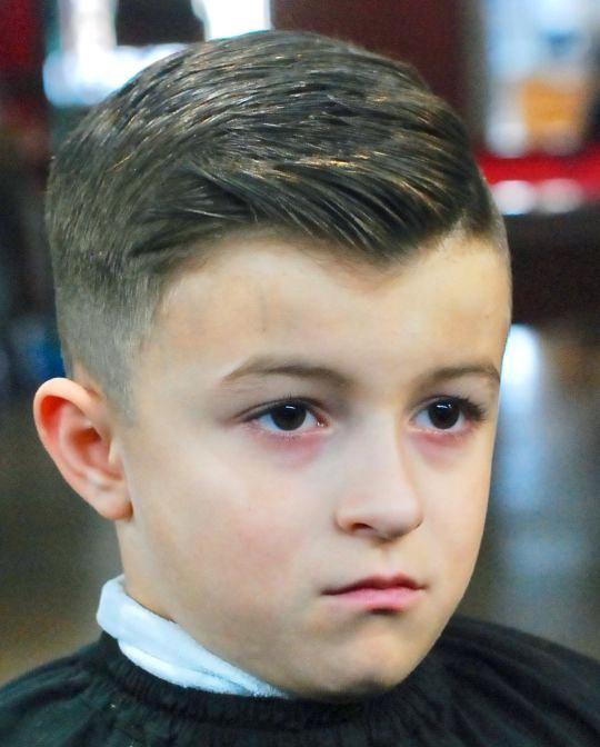 Frisuren kurz jungs