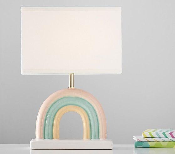 Ceramic Rainbow Lamp Room Lamp Kids Lamps Lamp