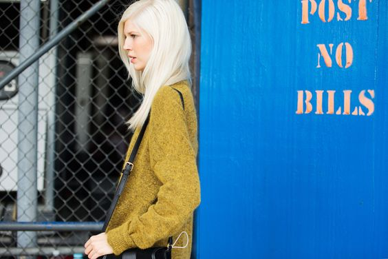 The NYFW Street Style Looks That Truly Stunned #refinery29  http://www.refinery29.com/2014/09/73987/new-york-fashion-week-2014-street-style-photos#slide1  Color therapy.