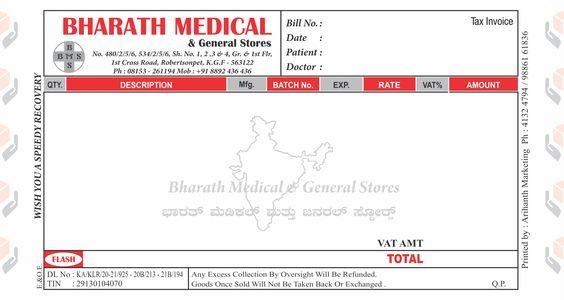 Sandeep Bhansali (arihanthmktg) on Pinterest - tax invoice
