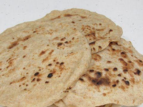 خبز عراقي بدون تنور وبدون فرن وبدقيقتين على الطباخ فقط Youtube Food Bread Matzo