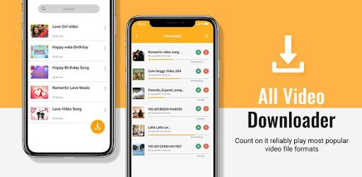 All Video Downloader 2019 Allows You To Download Videos And Social