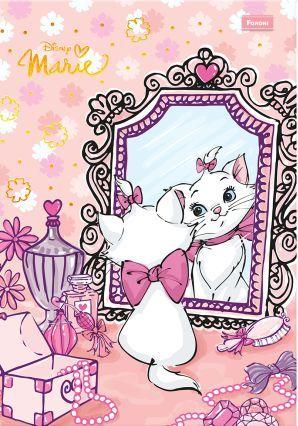 鏡を見るマリー