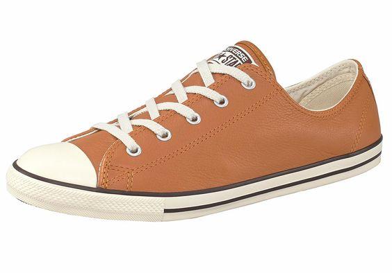 Größenhinweis , Fällt klein aus, bitte eine Größe größer bestellen., |Produkttyp , Sneaker, |Form/Schnitt , Schmale Form, |Schuhhöhe , Niedrig (low), |Farbe , Cognac, |Herstellerfarbbezeichnung , Glazed Ginger, |Obermaterial , Leder, |Verschlussart , Schnürung, |Laufsohle , Gummi, | ...