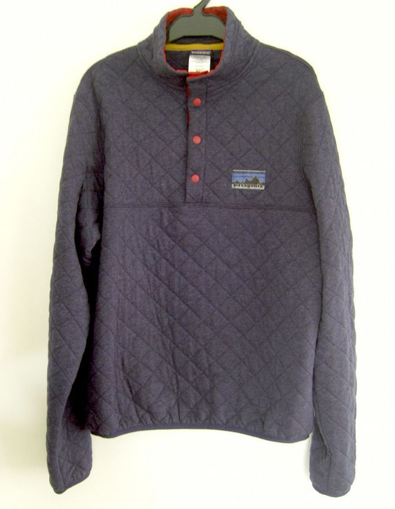 Patagonia 40th Anniversary Limited Edition Quilted Trek Outdoor Gear Pullover XS #Patagonia #Pullover