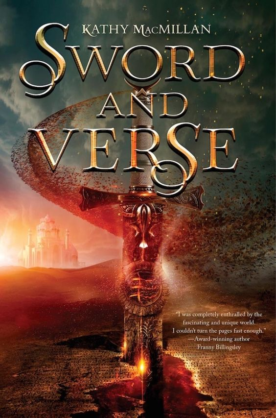 #CoverReveal Sword and Verse by Kathy MacMillan