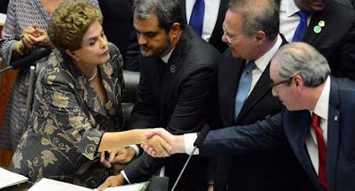 CULTURA,   ESPORTE   E   POLÍTICA: Dilma versus Cunha: um deles chorou e é quem vai p...