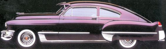 Cadillac and alexandria on pinterest for 1949 cadillac fastback series 61 2 door