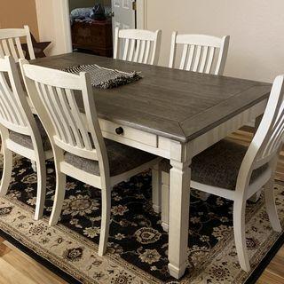Bolanburg Dining Chair Ashley Furniture Homestore In 2021 Farmhouse Kitchen Design Farm Table Dining Room Farmhouse Dining Room Table