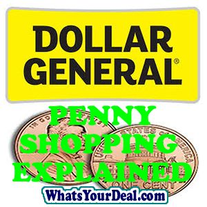 DOLLAR GENERAL PENNY SHOPPING EXPLAINED Dollar General follows a pattern for their discounted items. Usually 25%, 40%, 50%, 70%, 90% (this may vary slightly) then within 1-2 weeks the items...