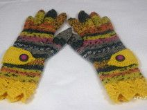 Fingerhandschuhe Gr. 5 1/2 - 6