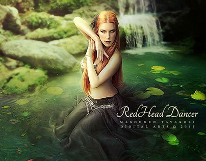 "Check out new work on my @Behance portfolio: ""Redhead Dancer"" http://on.be.net/1AFWCA8"