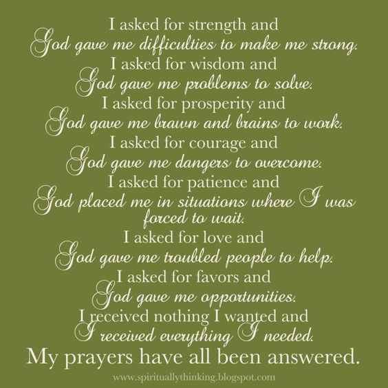 Thank You For Making Me Stronger Quotes: My Prayer, Lord And Poem On Pinterest